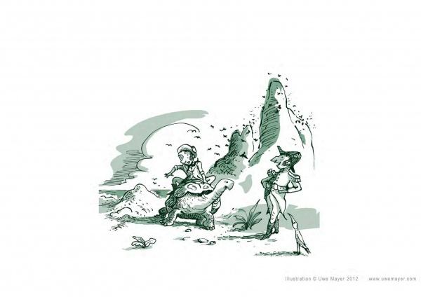 Illustration aus CHARLES DARWIN – Wer ist das?
