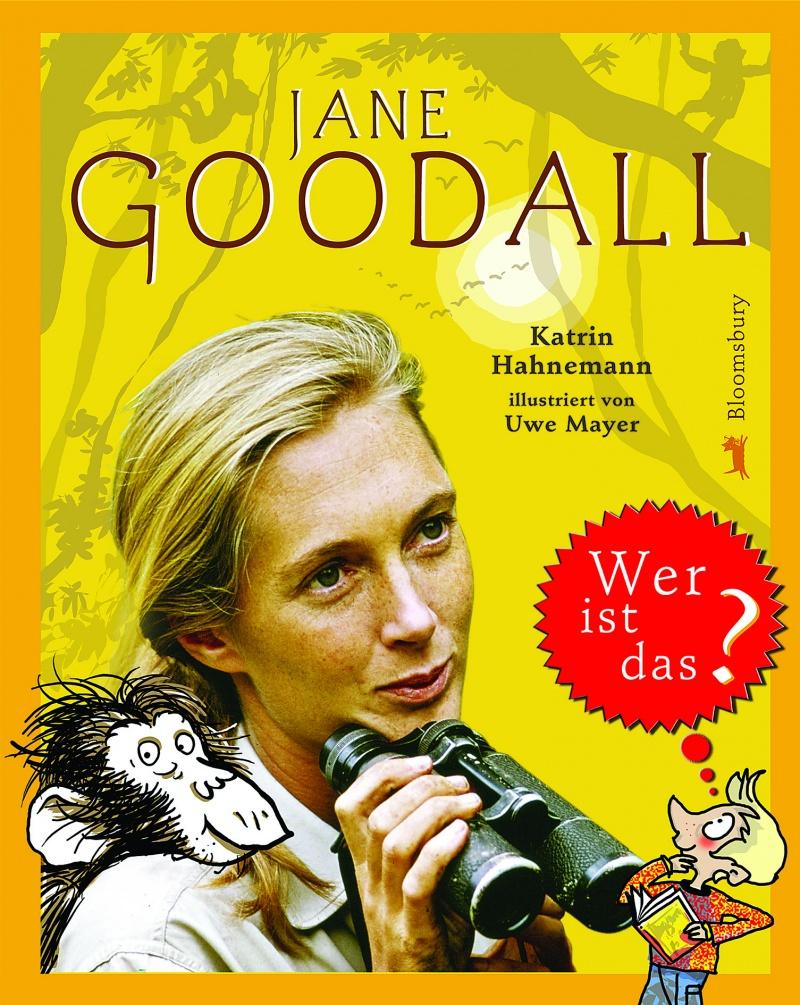 Buchtitel JANE GOODALL – Wer ist das?